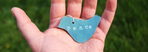 """Wie geht Frieden?"""