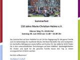 Marie-Christian-Heime e.V. - Sommerfest 2018 - 30.06.