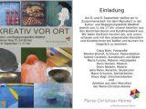 Kultur- und Begenungsstätte Waldhof / Kreativ vor Ort / 08.-09.09.
