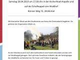 Osterfeuer der Marie-Christian-Heime / Ostersamstag, 20.04. 17h