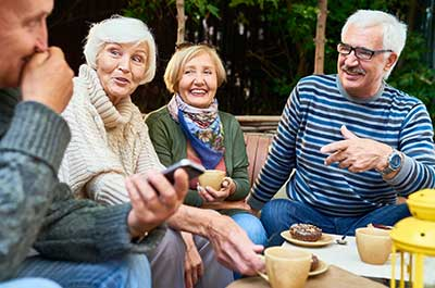 Treffen für Seniorinnen und Senioren