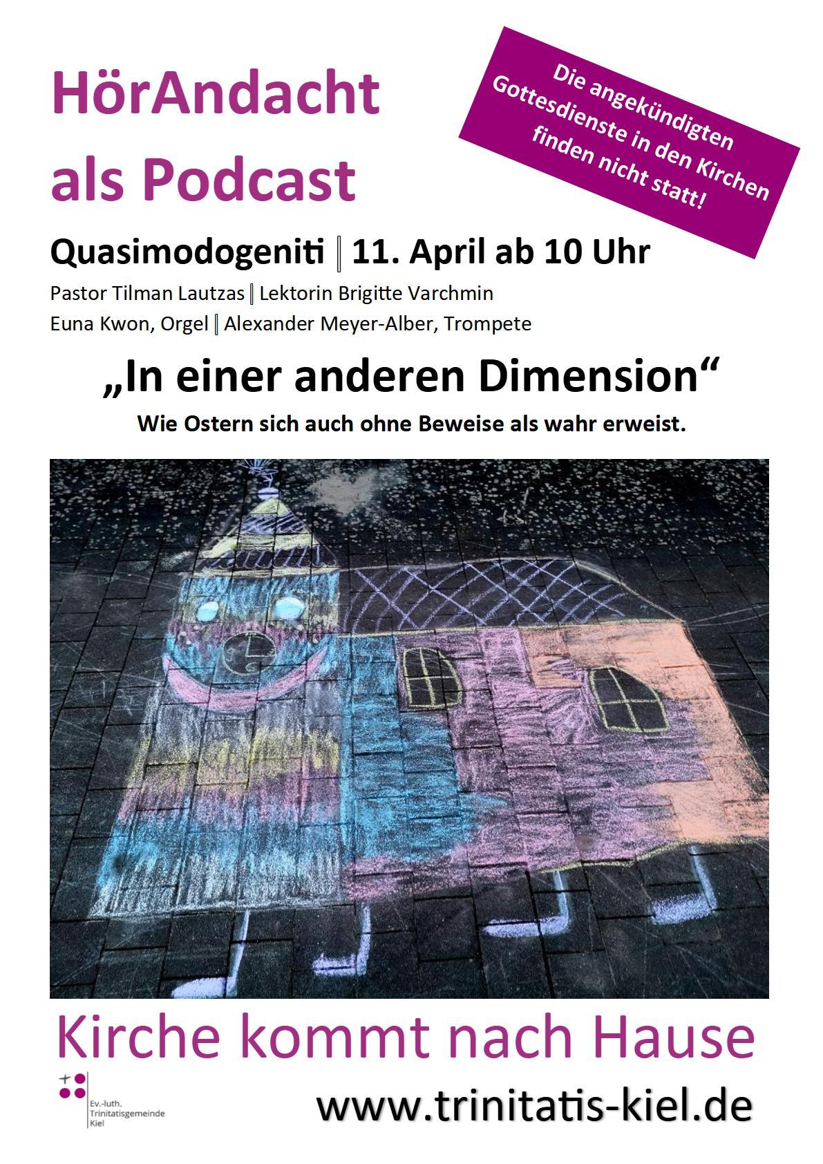 HörAndacht / Pastor Lautzas / 11. April