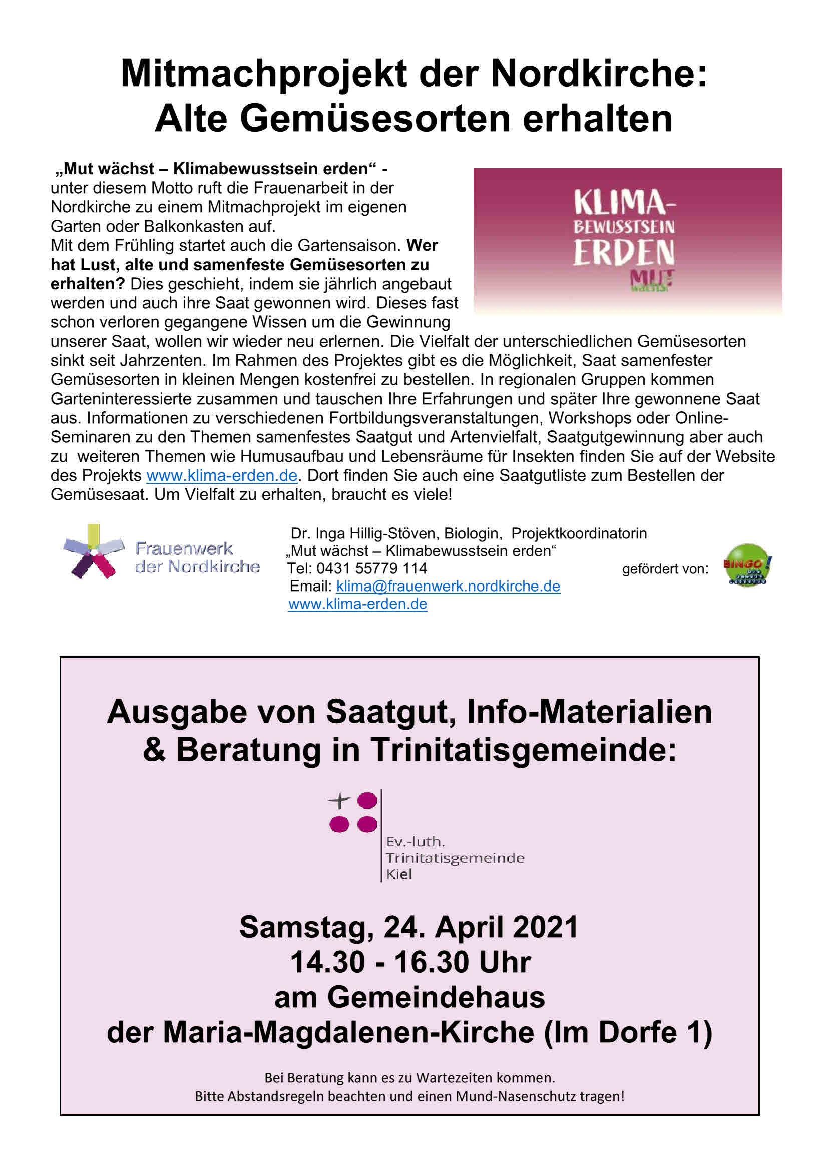 You are currently viewing Mit Kompost den Klimawandel stoppen / 24.April / Gemeindehaus MM